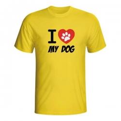 Majica I love my dog
