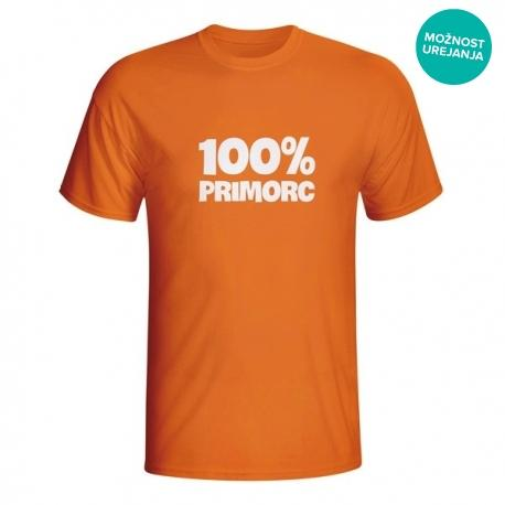 Moška majica100% Primorc