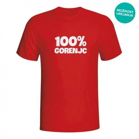 Moška majica 100% Gorenjc