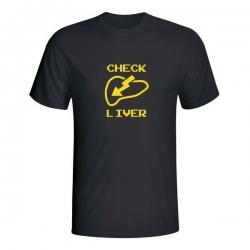 Moška majica Check Liver