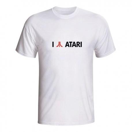 Moška majica I love Atari