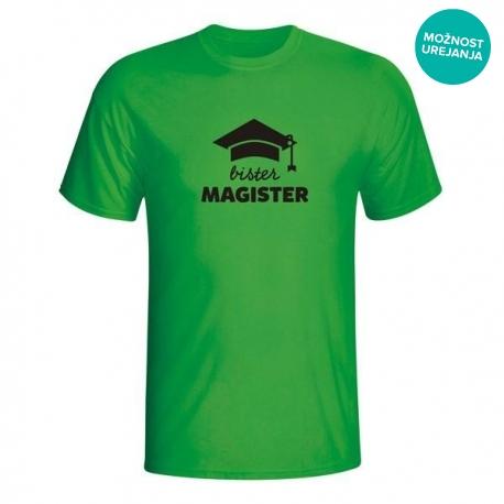 Moška majica Bister magister