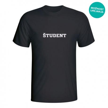Moška majica Študent