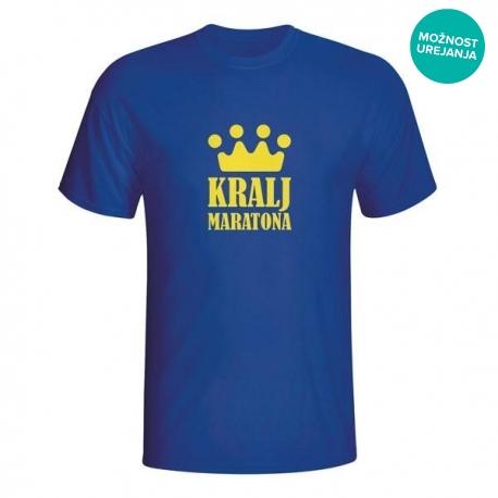 Moška majica Kralj maratona