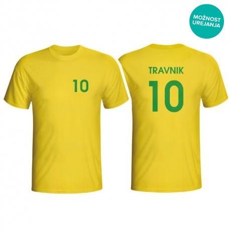 Ime in številka na majici po želji