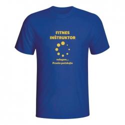 Moška majica Fitnes inštruktor
