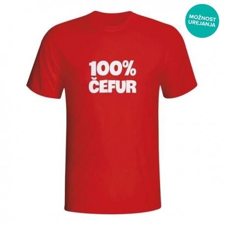 Moška majica 100% čefur