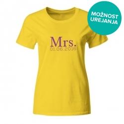 Majica za dekliščino Mrs