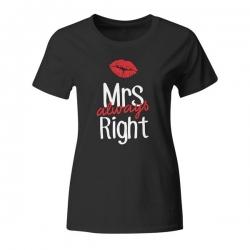 Ženska majica Mrs Always Right