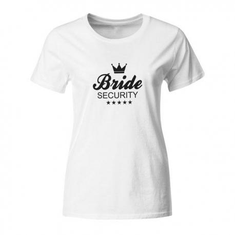 Majica za dekliščino Bride Security