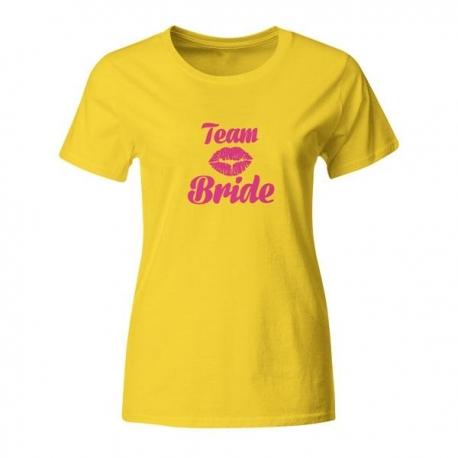Majica za dekliščino Team Bride