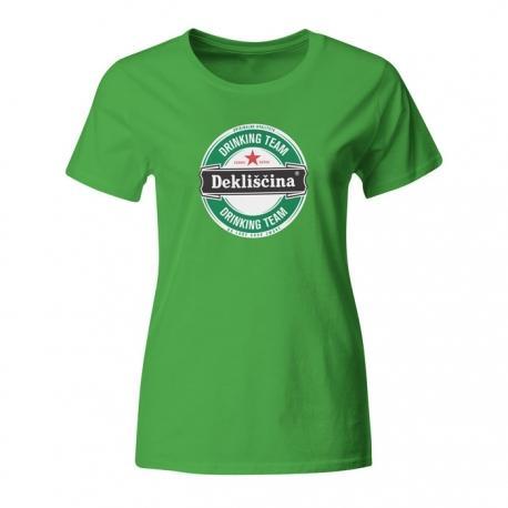 Majica za dekliščino Dekliščina drinking team