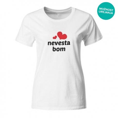 Majica za dekliščino Nevesta bom