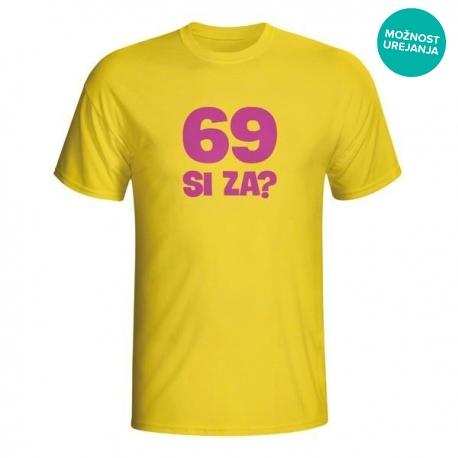Moška majica 69 si za?
