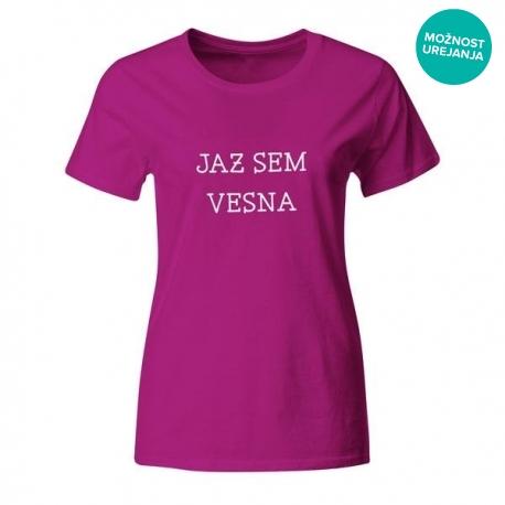 Ženska majica Jaz sem Vesna