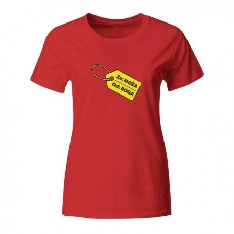 Ženska majica Za moža od boga