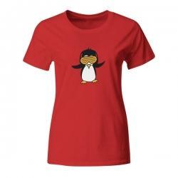 Ženska majica Disco Penguin