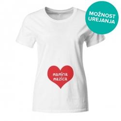 Nosečniška majica Mamica mazica