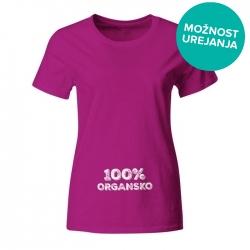 Nosečniška majica 100% organsko