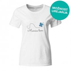 Nosečniška majica Mamica bom