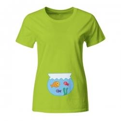 Nosečniška majica Akvarij