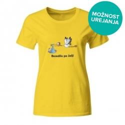 Nosečniška majica Štorklja in otrok