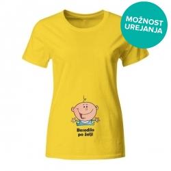 Nosečniška majica Novorojenček