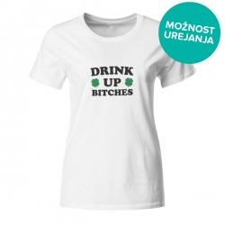 Ženska majica Drink up bitches