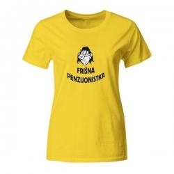 Ženska majica Frišna penzionistka