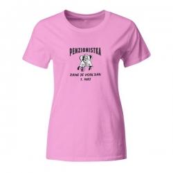 Ženska majica Penzionistka