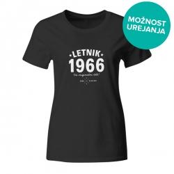 Ženska majica Letnik 1966 vsi originalni deli