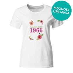 Ženska majica Čudovita že od 1966