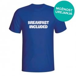 Moška majica Breakfast included