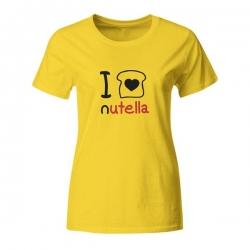 Ženska majica I love nutella