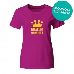 Ženska majica Kraljica Maratona