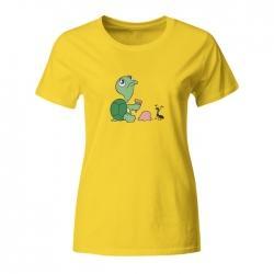 Ženska majica Želva in mravlja