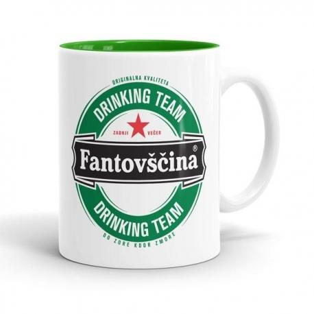 Skodelica Fantovščina Drinking Team