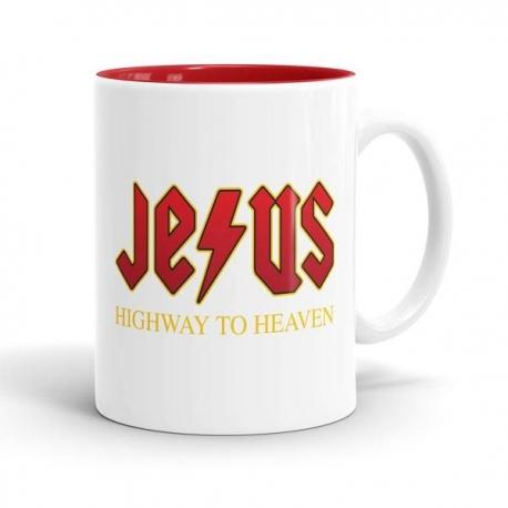 Skodelica Jesus Highway to Heaven