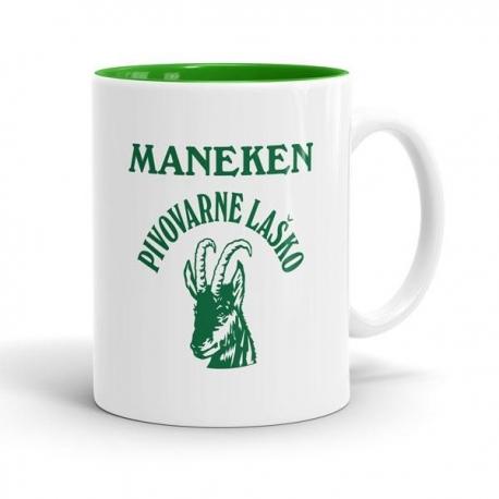 Skodelica Maneken pivovarne Laško