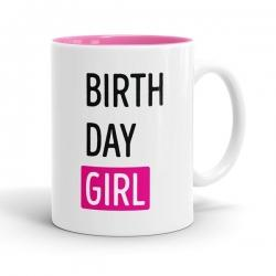Skodelica Birth Day Girl