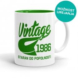 Skodelica Vintage Staran do popolnosti