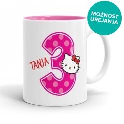 Hello Kitty skodelica za rojstni dan