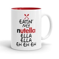 Eatin' my nutella