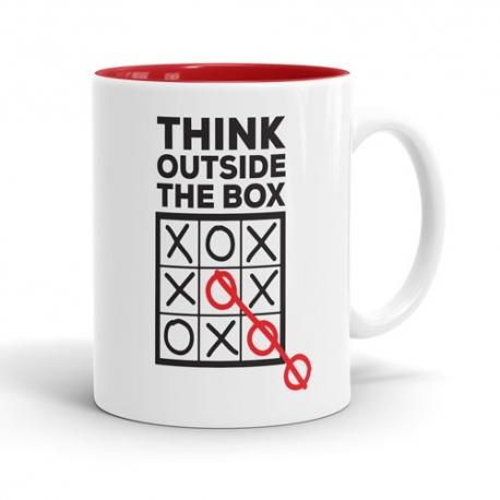 Skodelica Think outside the box