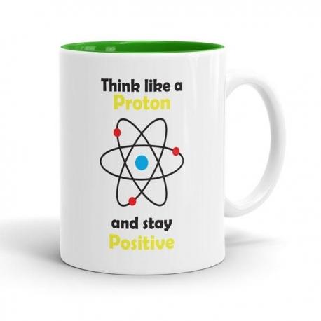 Skodelica Think Like A Proton