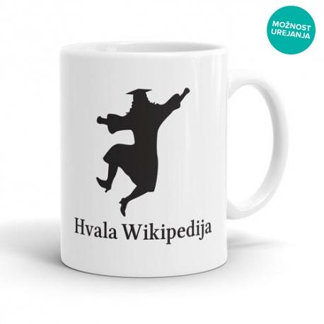 Skodelica Hvala Wikipedija