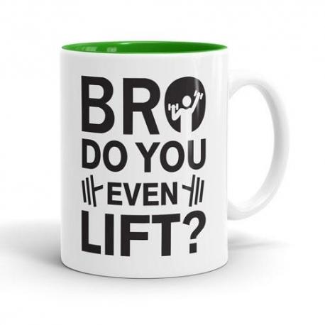 Skodelica Bro do you even lift