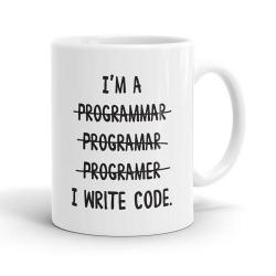 Skodelica I'm a Programmar