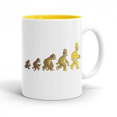 Skodelica Simpsons evolucija