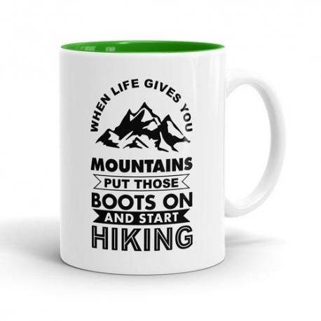Skodelica When life gives you Mountains